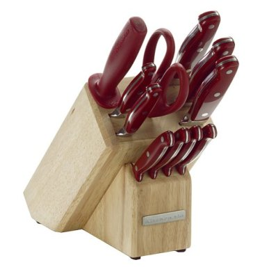 Kitchenaid 12 Pc Cutlery Set In Red