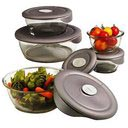 Deluxe Pyrex 10-pc Storage Set